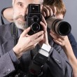 Photographers — Stock Photo