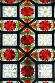 Stained-glass window — Foto Stock