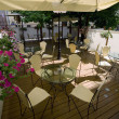 Foto Stock: Summer Terrace