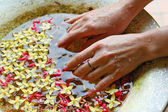 Spa and wellness details — Stock Photo