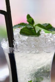 Mojito cocktail Close-up — Stock Photo