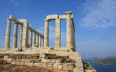 Temple of Poseidon near Athens, Greece — Stock Photo