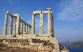 Temple of Poseidon near Athens, Greece — Stock Photo