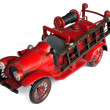 Antique Toy Fire Engine - Stock Photo