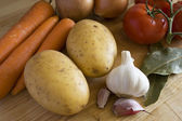 Cooking ingredients — Stock Photo