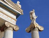 Apollo outside Academy of Athens. — Stock Photo