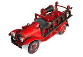 Antique Toy Fire Engine — Stock Photo