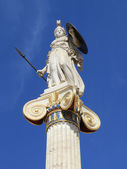 Statue of Athena in Greece — Stock Photo