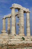 Temple of Poseidon, Greece. — Stock Photo