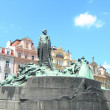 JHus Monument in Prague — Stock Photo #1970880