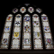 Stained Glass Window, Bath Abbey, UK — Stock Photo #1971257