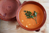 Gazpacho Andaluz — Stock Photo