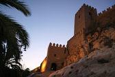 Alcazaba of Almeria — Stock Photo