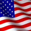 USA Flagge — Stockfoto