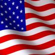 Флаг США — Стоковое фото