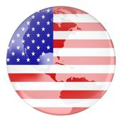 USA and earth — Stock Photo