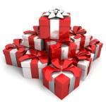 Heap gifts — Stock Photo #2465339