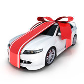 Gift car — Stock Photo