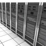 Server-room row — Stock Photo #2481761