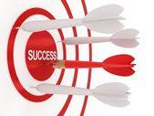 Dart y el éxito — Foto de Stock