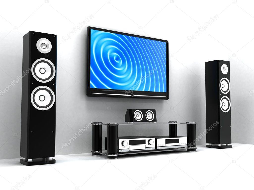 home cin ma modern photographie vladru 2548169. Black Bedroom Furniture Sets. Home Design Ideas