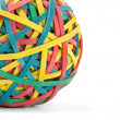 Royalty-Free Stock Photo: Rubber band ball