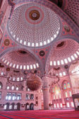 Ankara Turkey - Kocatepe Mosque interior — Stock Photo