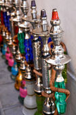Hookahs (water pipes) in Doha Qatar — Stock Photo