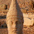 Heads of statues on Mount Nemrut Turkey — Stock Photo