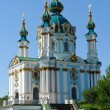 Kiev, Ukraine - St Andrew Church — Stock Photo