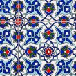 Stock Photo: Turkish tile background