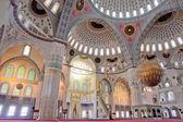 Ankara, turkije-binnenkant kocatepe-moskee — Stockfoto