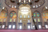 Ankara Turkey -Inside of Kocatepe Mosque — Stock Photo
