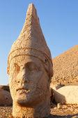 Heads of statues on Mount Nemrut Turkey — Stock Photo