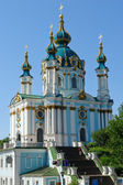 Kiev, Ukraine - St Andrew Church — Stock Photo