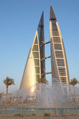 Bahrain - World trade center — Stock Photo
