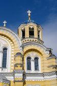 Saint Vladimir Cathedral detail in Kiev — Stock Photo