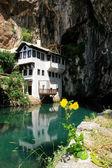 Casa de dervixe em buna blagaj, Bósnia — Fotografia Stock