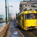Old tramway in Sarajevo - Bosnia — Stock Photo