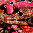Turkish traditional slippers - Stock Photo