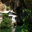 Dervish house in Blagaj Buna, Bosnia — Stock Photo