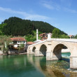 Historic bridge in Bosnia and Herzegovin — Stock Photo