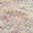 Marbled paper artwork — Stock Photo