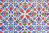 Turkish tile background — Stock Photo