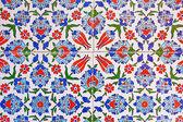 Fondo de azulejo turco — Foto de Stock