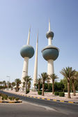 Kuwait towers — Stock Photo
