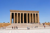 Mausoleum of Ataturk in Ankara Turkey — Stock Photo