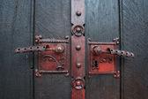 Church gate knobs in Sarajevo, Bosnia — Stock Photo