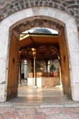 Sarajevo - Mosque courtyard — Stock Photo