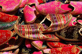 Turkish traditional slippers — Stock Photo